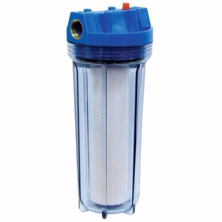 "10 Inch 1/2 ""Interface Transparante Water Filter Behuizing"