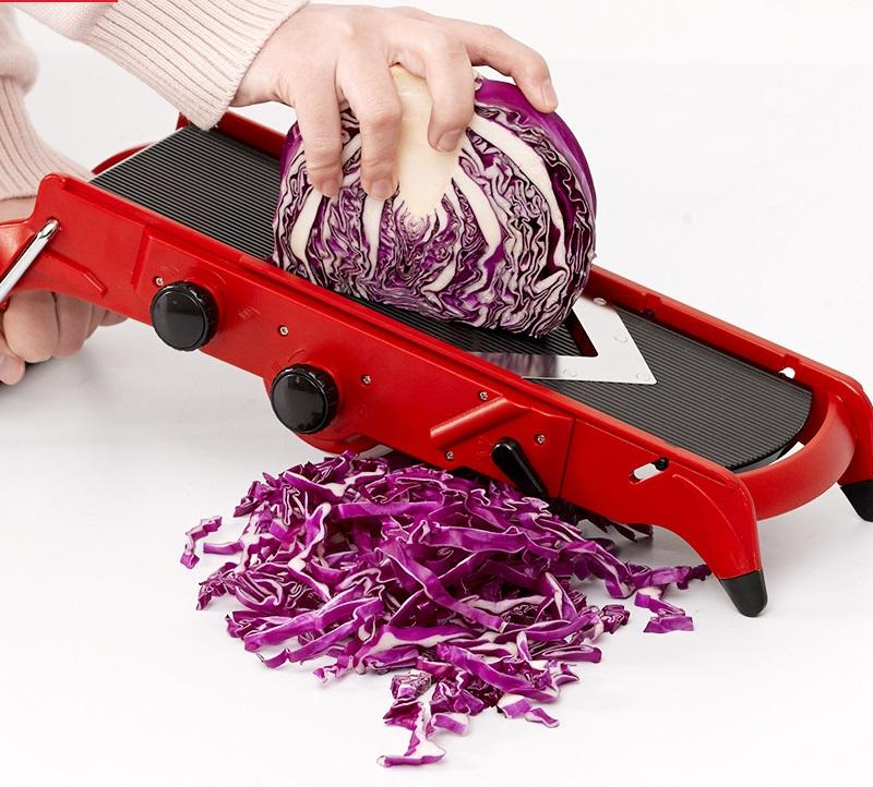 Multi Blade Stainless Steel Vegetable Chopper Dicer, Stainless Steel Vegetable Mandoline Slicer