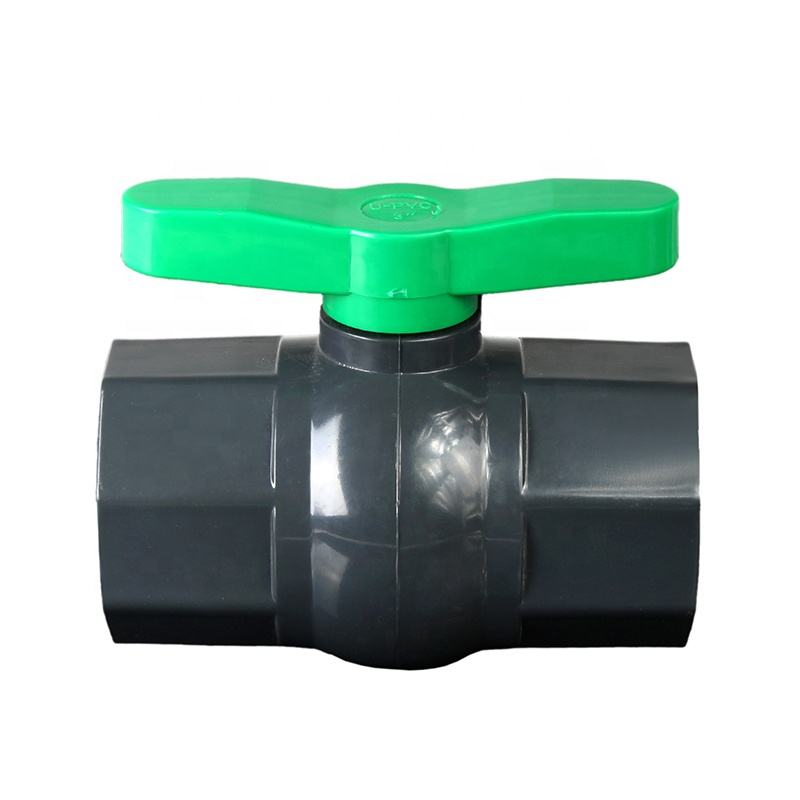 "High Quality PVC Plastic 3"" New Handle Octagonal Ball Valve"