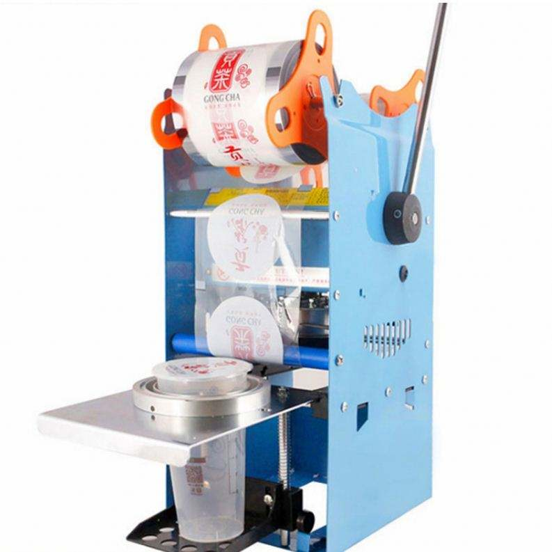 Desktop Water Manual Yogurt Cup Sealing Machine