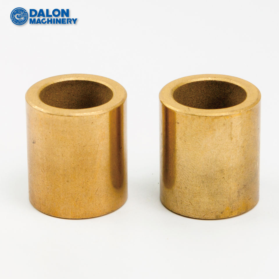 self-lubricating oilite graphite impregnated sintered bronze bushings fan sleeves