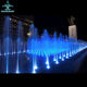 China Manufacturer Musical Dancing Outdoor Dry Floor Water Fountain With Light Led