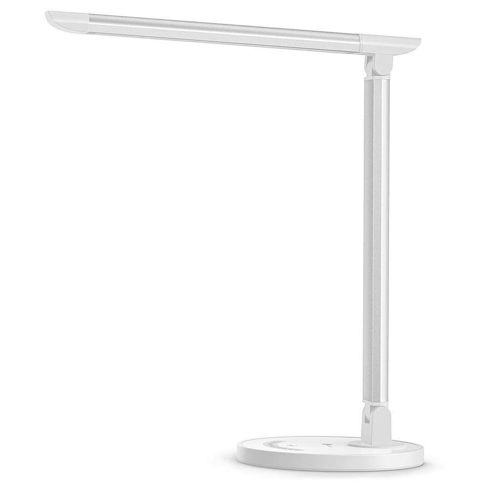 LED Desk Eye-caring Table Lamps Study Dimmable Office Lamp with USB Modern Bedside Lamp Table For Office