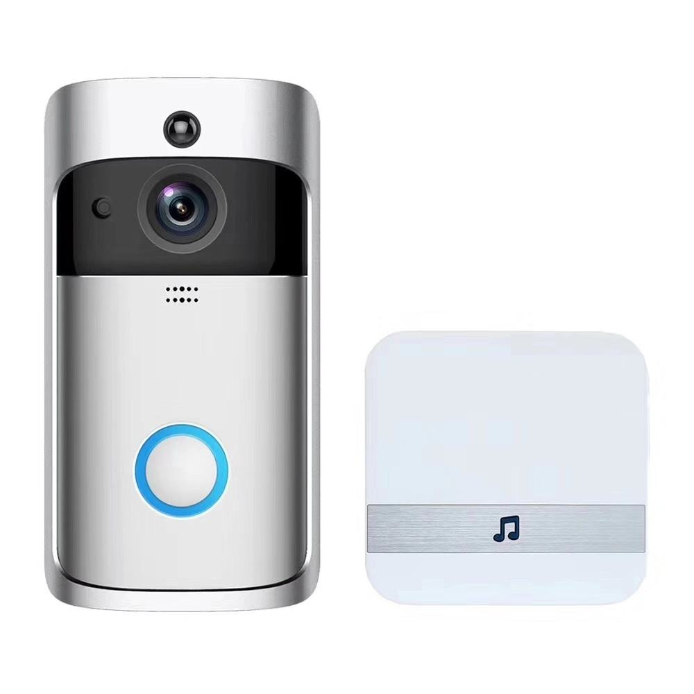 Apartments intercom Doorbell Smart Security Camera Low power consumption HD 720P Video Quality ToSee App motion detect doorbell