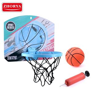 Zhorya customize toys plastic mini kids basketball hoop