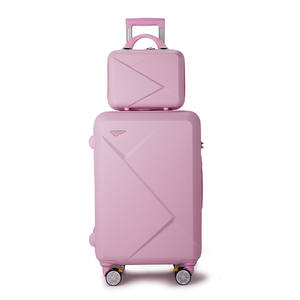 INS hot selling Sample Trolley Rolling Set Hand Cabin Travel Suitcase Luggage Bag Luggage