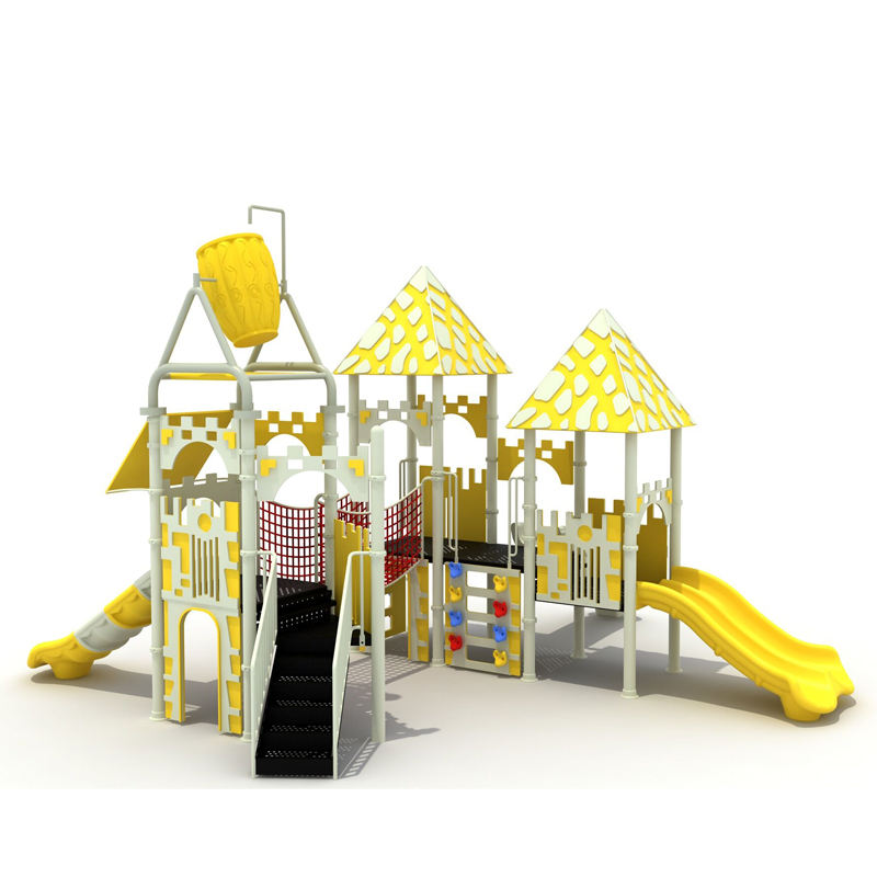 PE sheet series amusement playground Children slide for water park fun