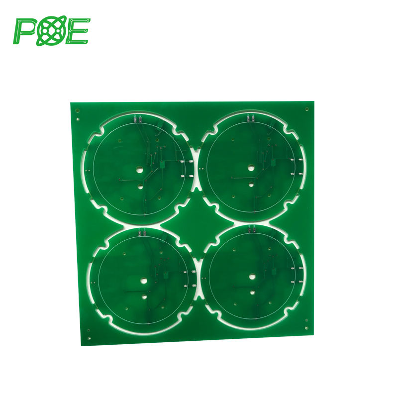 Qualified 2 layer circuit boards blind vias laser drill pcb manufacturer