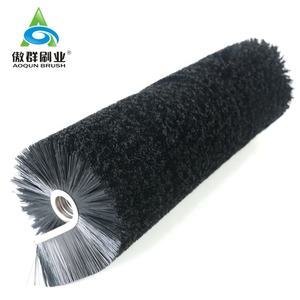 Circular Nylon Brush Cylindrical Conveyor Cleaning Brush Conveyor Cylinder Brush