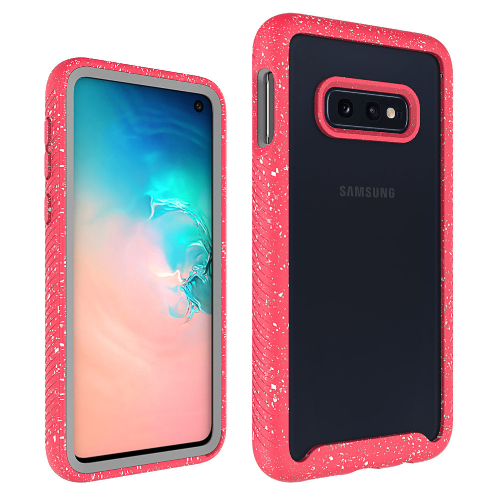 Pc Tpu [ Case Galaxy ] Full Body Slim Armor Tpu PC Case With Front Frame Acrylic Transparent Mobile Phone Case For Samsung Galaxy S10 Lite/S10e