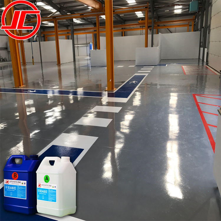 2 Parts Double Components Epoxy Paint Floor for Workshop Factory Garage