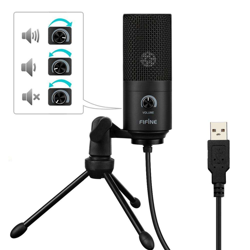 Fifine digital conference microphone usb from China manufacturer
