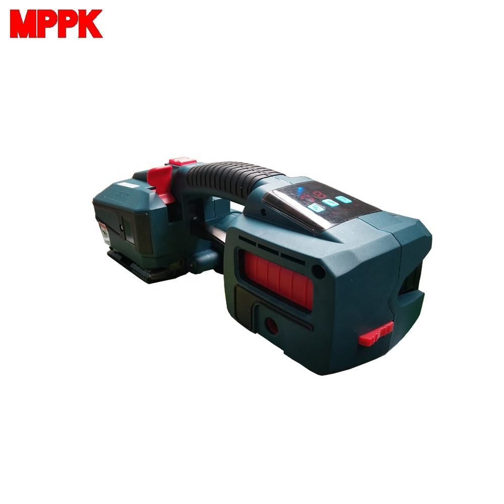Handheld Electric Battery Powered Friction Welding 13-16mm PET Strapping Bundle Banding Machine