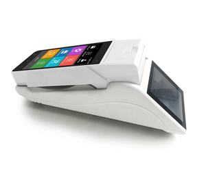 pos android systems with pos printer Z90 point of sale touch sreen use in bitcoin/bubble tea shop/bus ticketing with printer
