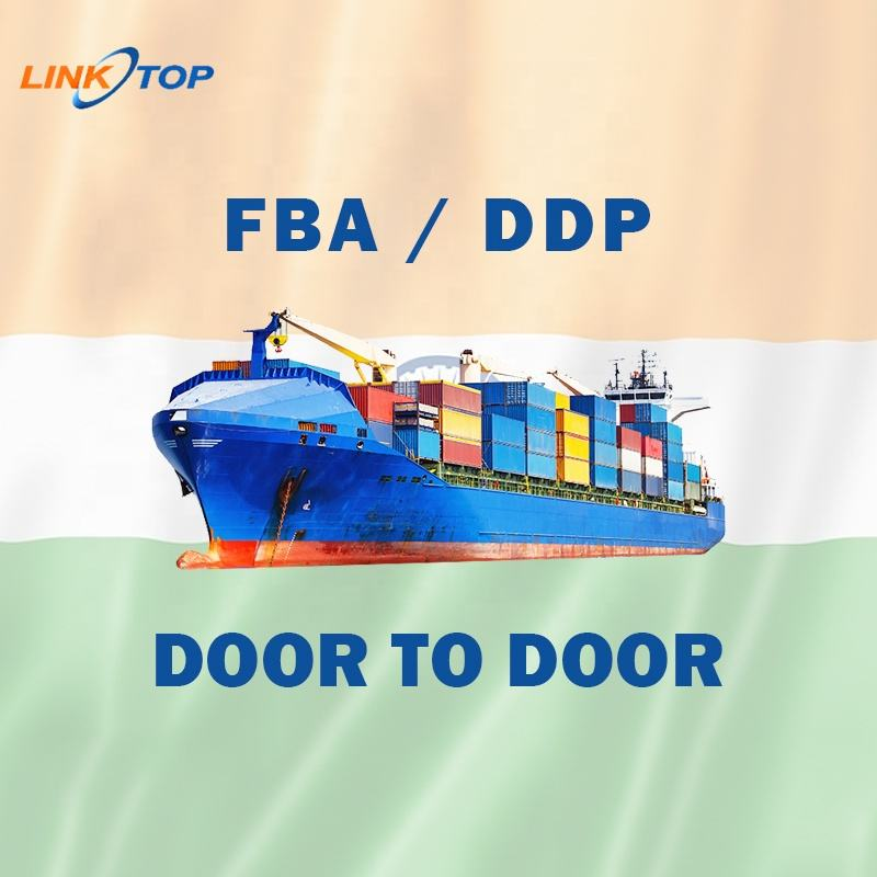 FBA sea freight and air freight courier express DDP door to door form china to india new delhi mumbai bangalore amazon