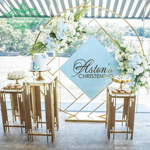Supplier selling iron frame wedding decor backdrop stand