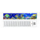 custom sealife 3d ruler for kid's toy gift stationery and tourist souvenirs