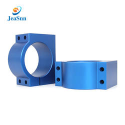 OEM blue anodizing cnc precision turning machined parts cnc machining aluminum parts