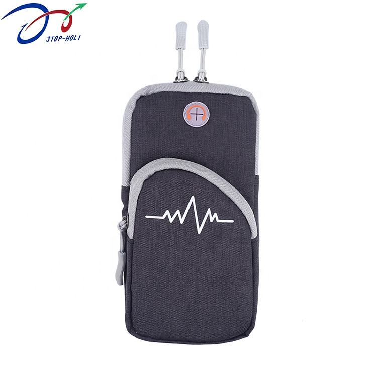 High Quality Waterproof Fabric Sport Armband for Running, Sports Phone Bag, Mobile Phone Arm Bag