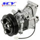 AC Compressor & A/C Clutch Suitable for Mazda 2 2011 2012 BPF DR6161450 DR61-61-450