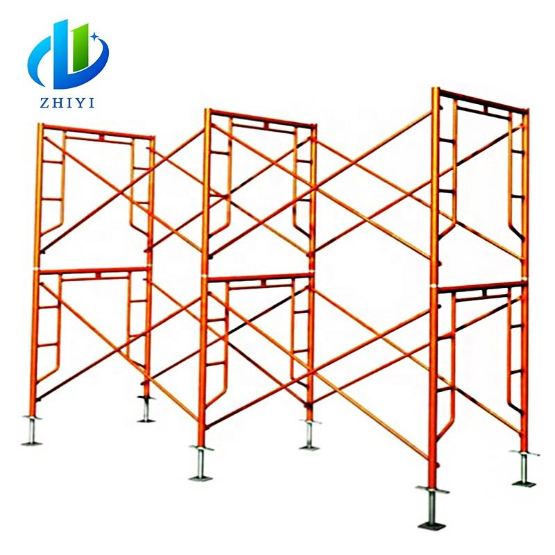 bs1139 standard light weight sladder frame scaffolding material