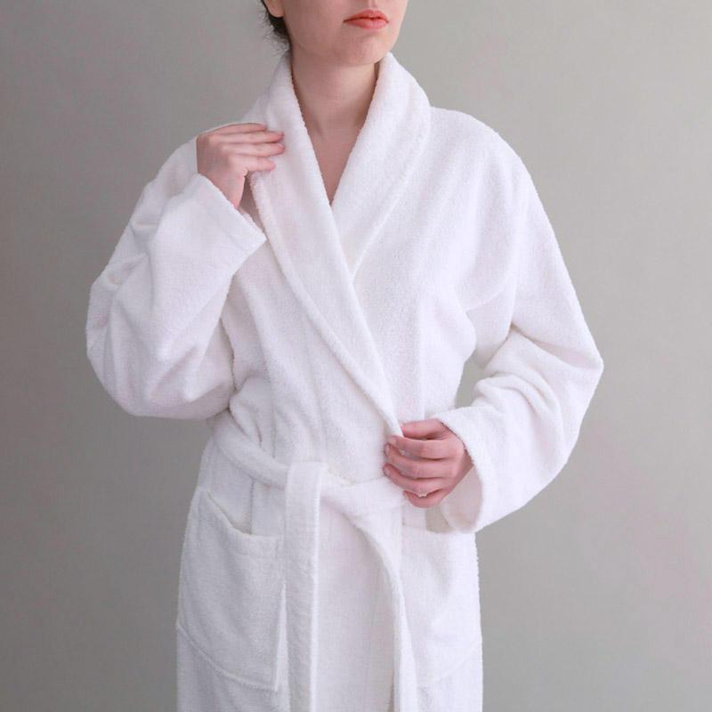 Mens luxury 100/% cotton bathrobe dressing gown navy black S M L XL No3