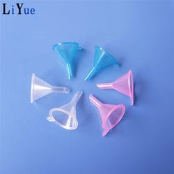 Factory Directly Laboratory Cheap Clear Plastic Funnel, Transparent PP Plastic Mini Perfume dispensing Funnel