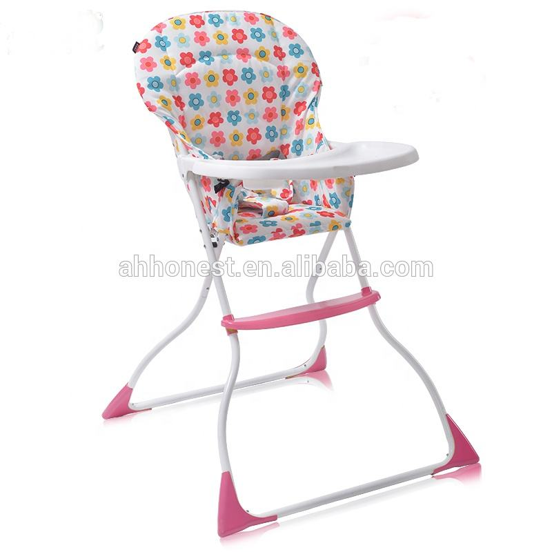 Washable high chair for babies plastic height adjustable baby cradle HN-LY100