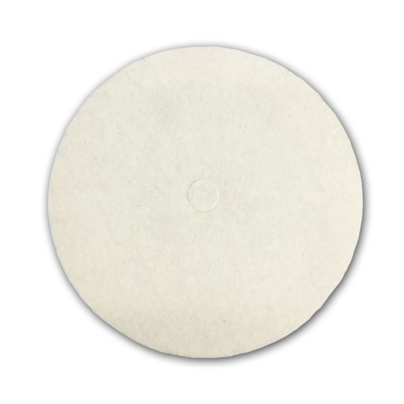 8mm thick 100% wool felt 100 mm wool felt polishing wheel Disc