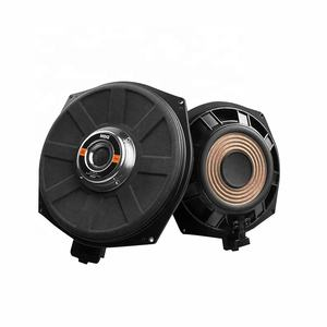 MBQ Hifi sound quality 8 inch neodymium magnet under seat woofer speaker Plug and Play subwoofer car audio for BMW