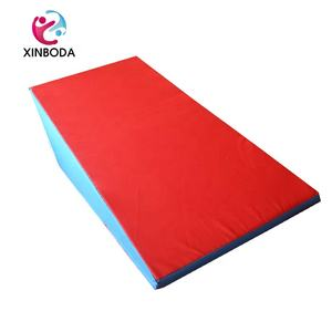 incline gymnastic mat wedge ramp gym skill sports exercise aerobics tumbling