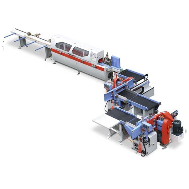 Full production wood jointing semi automatic finger joint line