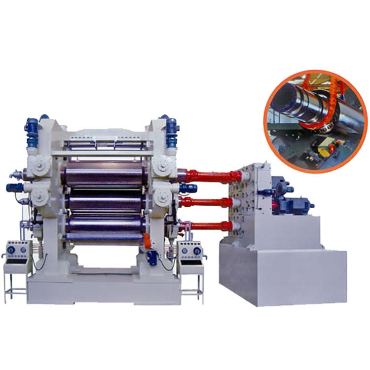 GOOD QUALITY HIGH PERFORMANCE PVC SHEET CALENDER MACHINE
