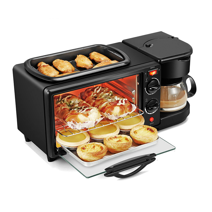 Antronic hot sales 1050W 7 Liter oven 3 in 1 multifunction breakfast maker