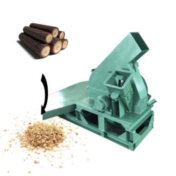 hot selling diesel engine wood chipper