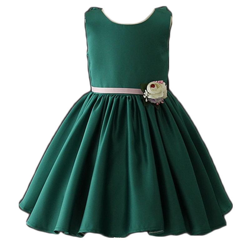 wholesale price fashion cute korean summer children clothing girls dress kids wear party dress made in china