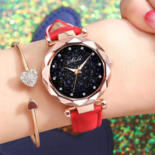 2019 new ladies watch trend Korean version of simple casual atmosphere with retro diamond watches wholesale spot