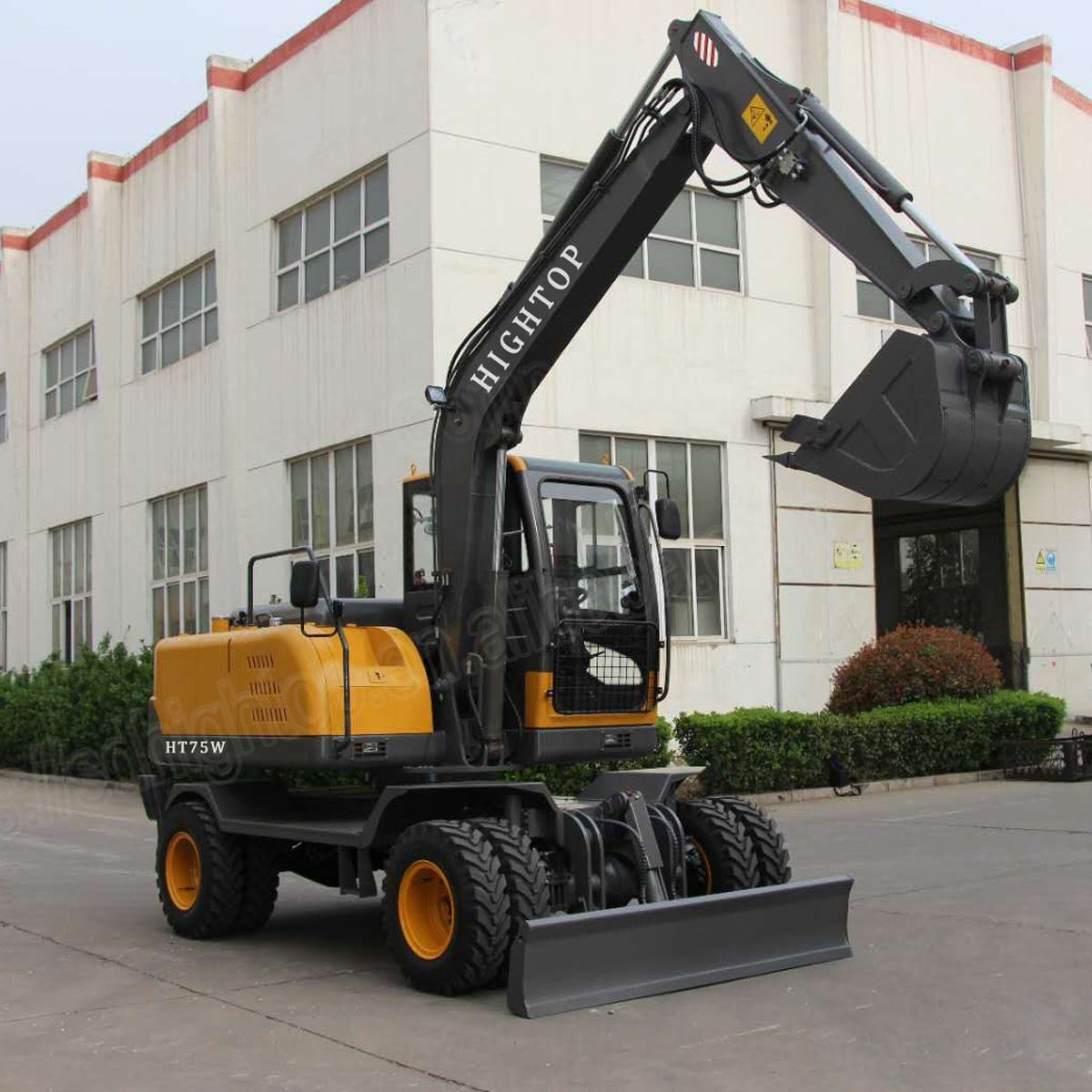 Small wheel excavator manufacturer from China