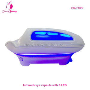 Body stoomboot machine droog nat warmte sauna ozon bad machine bed spa capsule Ver Infrarood Sauna Spa Capsule LED Licht therapie Bed