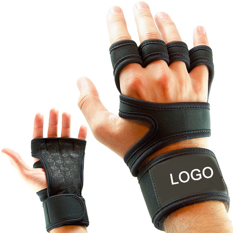 Wholesale Custom Logo Men Cross Training Fitness Weight Lifting Gym Gloves For Workout