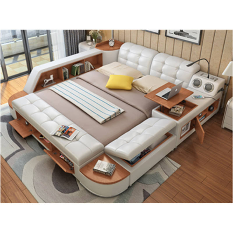made in China hot on sale modern multifunctional bed