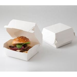 Mini burger box, hamburger box, papier hamburger box