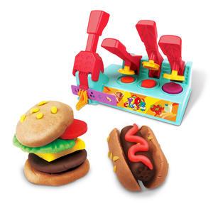 Kids slime toy set DIY Alpinia handmade mud cake doughnuts ultra-light clay toys