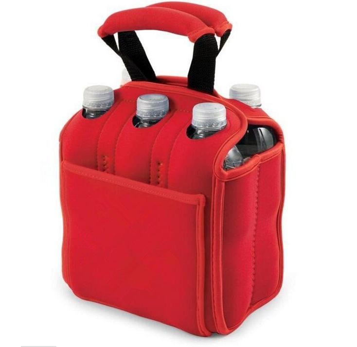 Hot Selling Good Quality Insulated Neoprene 6 Pack Beer Bottle Cooler