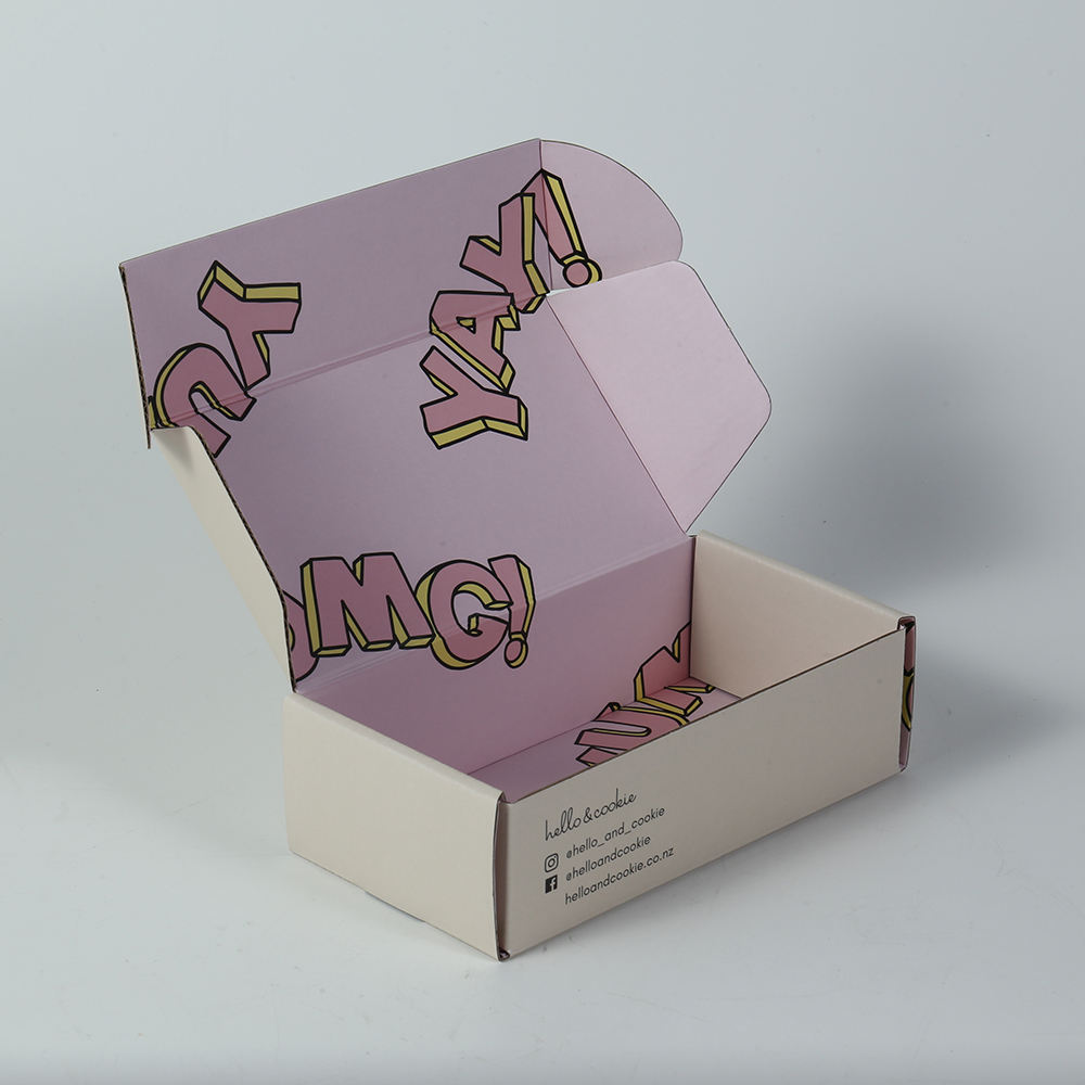 Custom packaging shipping full printing paper boxes paper box for shoes
