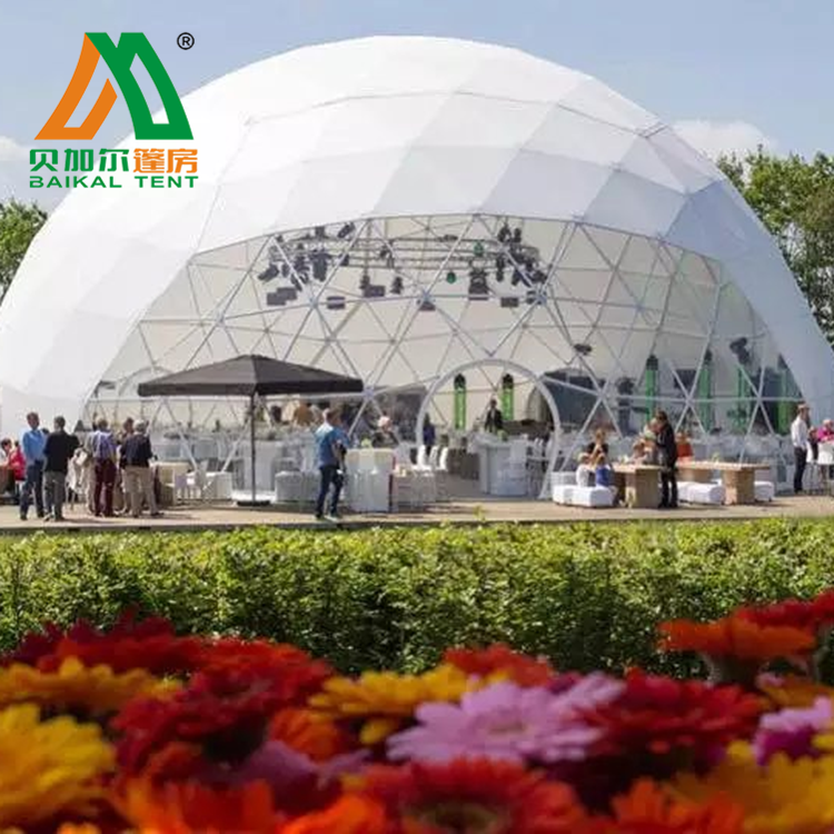 30m diameter promotion geodesic dome tent event marquee tent for sale