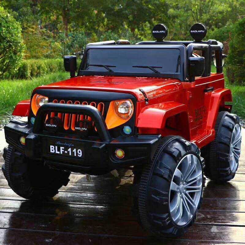2020 12V SUV 4x4 Off-Road Battery Powered Kids Plastic Car Ride On Big Toy Car