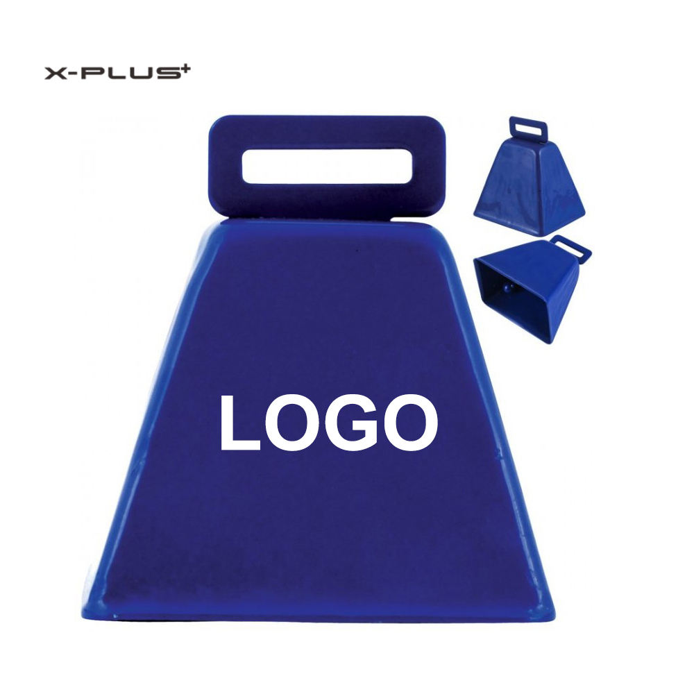 Wholesale Wed Loud Metal Painted Custom Cow Bell for Promotion