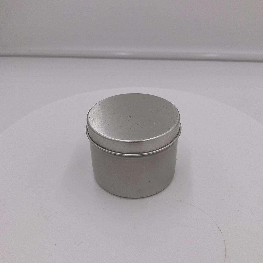 Venta al por mayor vela/de vela de plata de latas de estaño perfumada de contenedor para el evento de fiesta de boda