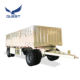 2 Axles 20 feet 10-30Tons Drawbar Dolly Towing Fence Full Trailer for Madagascar